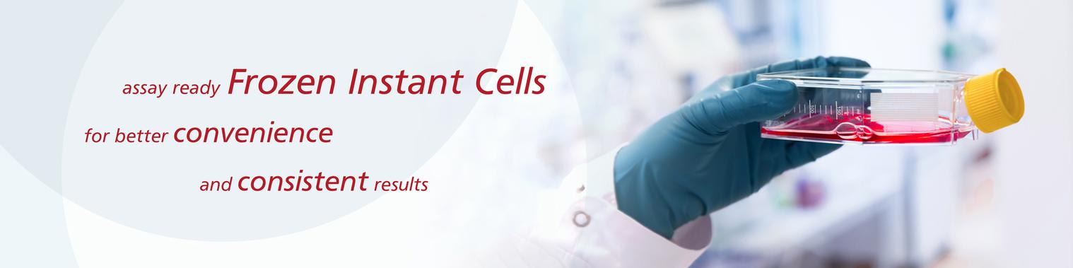 Frozen instant cells banner